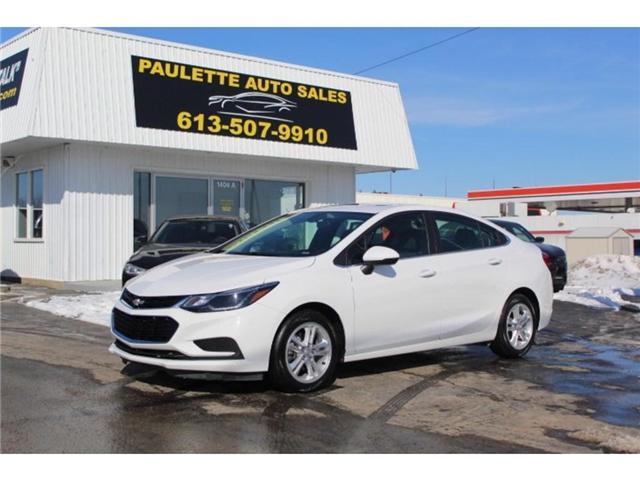 2018 Chevrolet Cruze - (Stk: 2505) in Kingston - Image 1 of 11