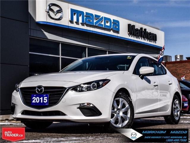 2015 Mazda Mazda3 GX (Stk: P1854) in Markham - Image 1 of 25