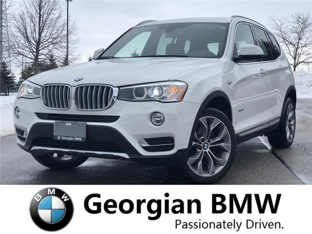 2016 BMW X3 xDrive28i (Stk: P1419) in Barrie - Image 1 of 20
