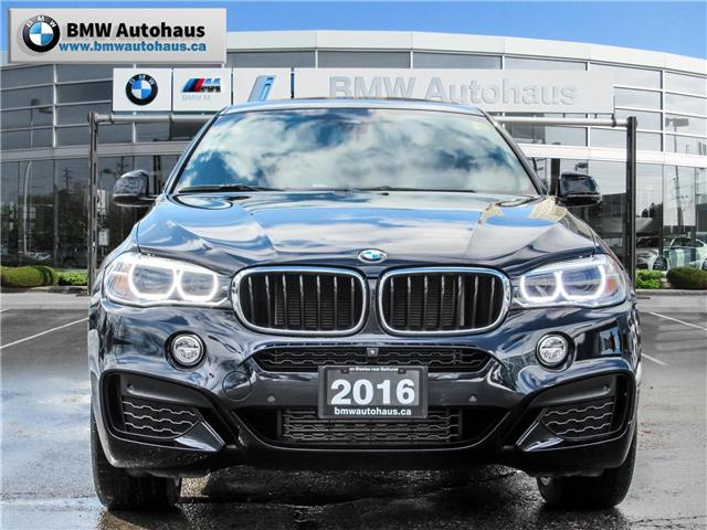 2016 BMW X6 xDrive35i (Stk: P8773) in Thornhill - Image 2 of 27