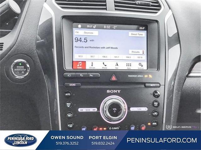 2018 Ford Explorer Sport (Stk: 1685) in Owen Sound - Image 19 of 25