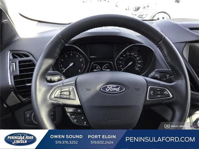 2018 Ford Escape SEL (Stk: 1700) in Owen Sound - Image 13 of 24
