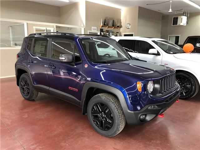 2018 Jeep Renegade Trailhawk (Stk: T18-148) in Nipawin - Image 1 of 9