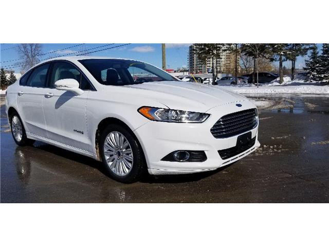 2014 Ford Fusion Hybrid SE (Stk: P8498) in Unionville - Image 1 of 21