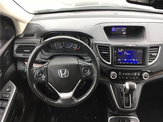 2016 Honda CR-V Touring (Stk: U16207) in Barrie - Image 9 of 17
