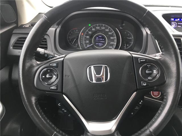 2016 Honda CR-V Touring (Stk: U16207) in Barrie - Image 10 of 17