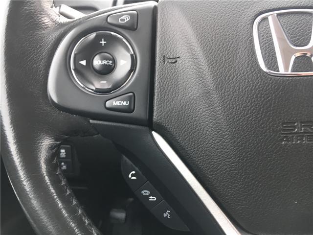2016 Honda CR-V Touring (Stk: U16207) in Barrie - Image 11 of 17