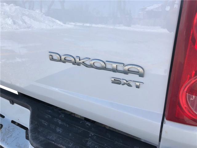 2011 Dodge Dakota SXT (Stk: 9844.0) in Winnipeg - Image 12 of 23