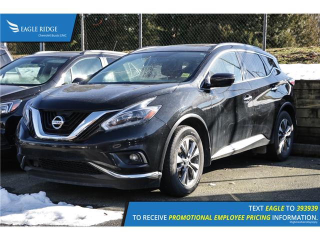 2018 Nissan Murano SV (Stk: 189292) in Coquitlam - Image 1 of 5