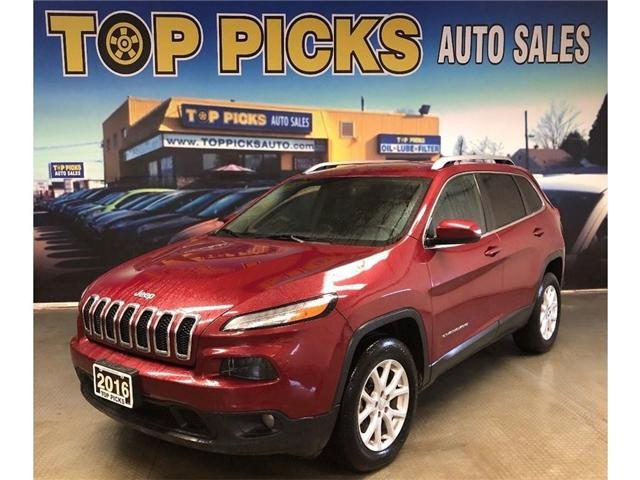 2016 Jeep Cherokee North (Stk: 100948) in NORTH BAY - Image 1 of 25