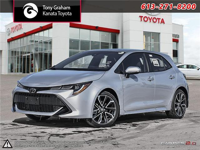 2019 Toyota Corolla Hatchback SE Upgrade Package (Stk: 89190) in Ottawa - Image 1 of 27