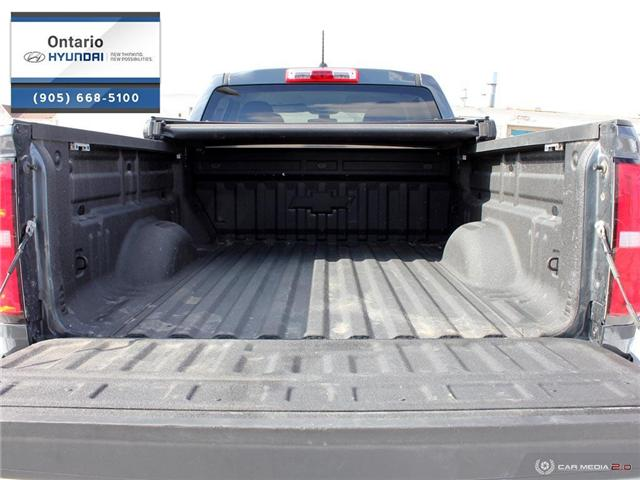 2017 Chevrolet Colorado WT / 4x4 / Cargo Cover (Stk: 03444K) in Whitby - Image 10 of 27
