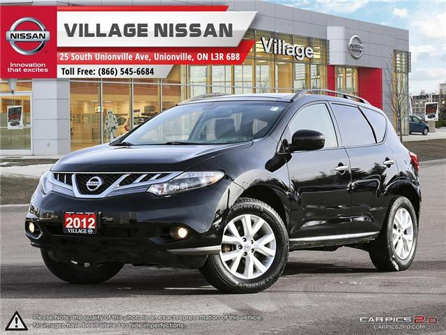 2012 Nissan Murano SL (Stk: 80678A) in Unionville - Image 1 of 27