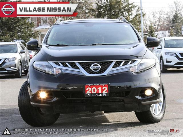 2012 Nissan Murano SL (Stk: 80678A) in Unionville - Image 2 of 27