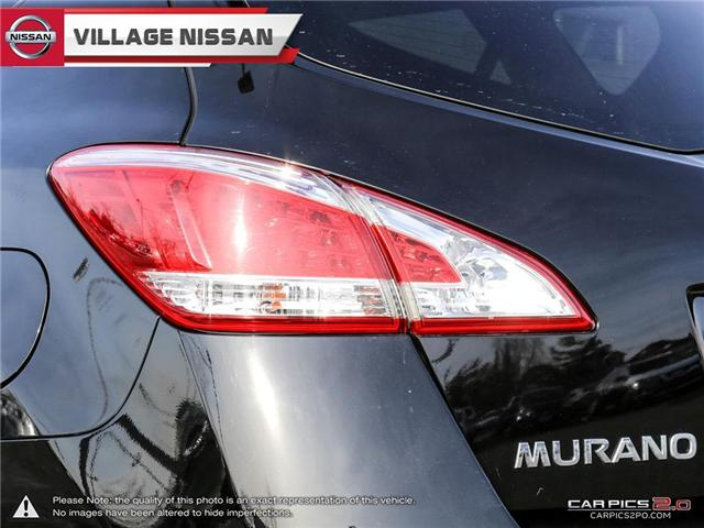 2012 Nissan Murano SL (Stk: 80678A) in Unionville - Image 12 of 27