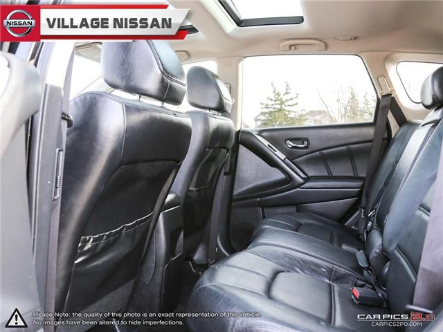 2012 Nissan Murano SL (Stk: 80678A) in Unionville - Image 24 of 27