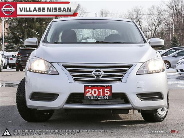 2015 Nissan Sentra 1.8 S (Stk: 90268A) in Unionville - Image 2 of 27