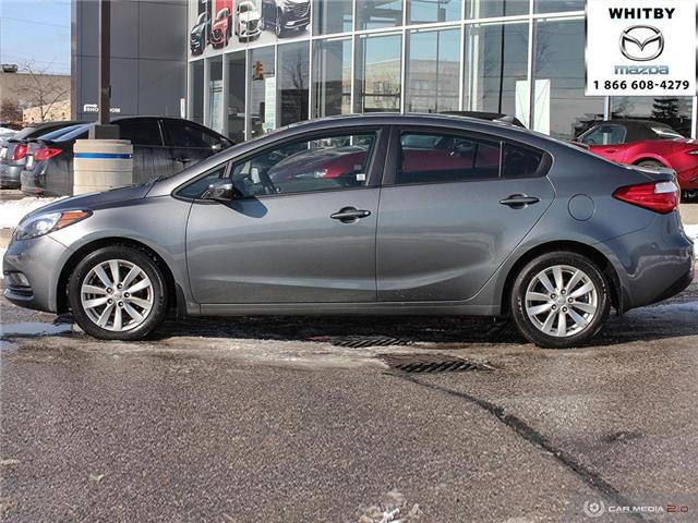 2015 Kia Forte 1.8L LX (Stk: P17411) in Whitby - Image 3 of 27