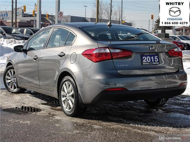 2015 Kia Forte 1.8L LX (Stk: P17411) in Whitby - Image 4 of 27