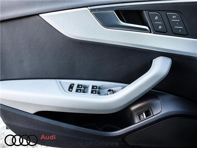2018 Audi A4 2.0T Progressiv (Stk: 91114) in Nepean - Image 9 of 28