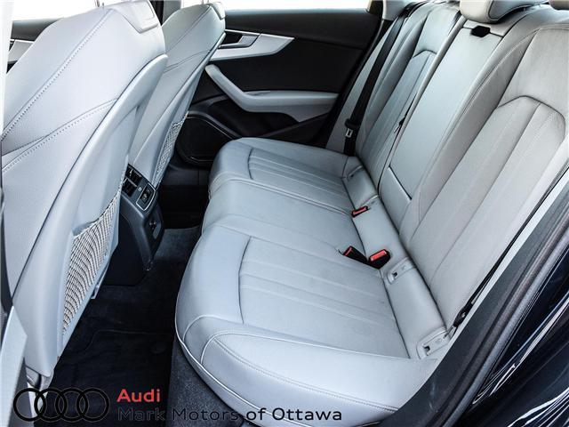 2018 Audi A4 2.0T Progressiv (Stk: 91114) in Nepean - Image 13 of 28