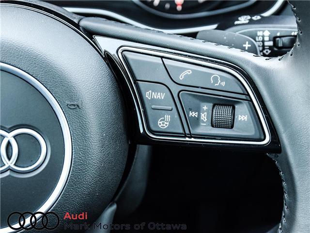 2018 Audi A4 2.0T Progressiv (Stk: 91114) in Nepean - Image 14 of 28