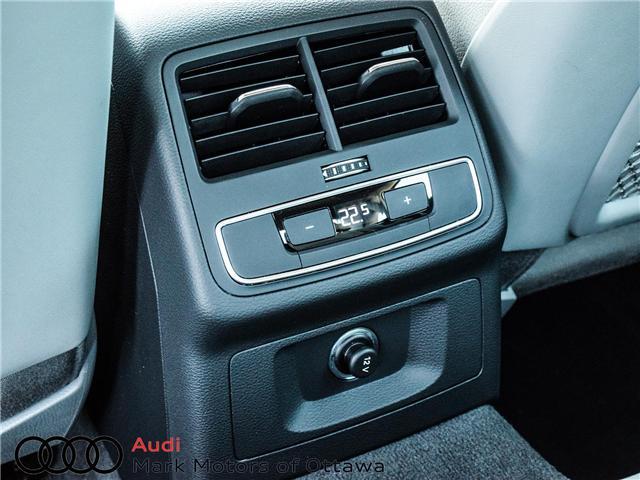 2018 Audi A4 2.0T Progressiv (Stk: 91114) in Nepean - Image 18 of 28