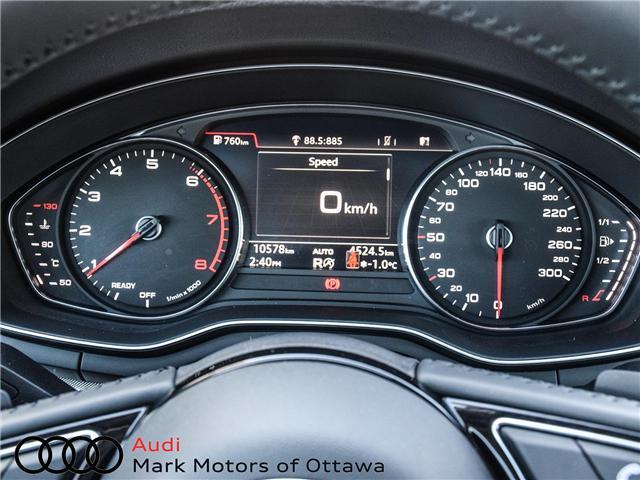 2018 Audi A4 2.0T Progressiv (Stk: 91114) in Nepean - Image 19 of 28