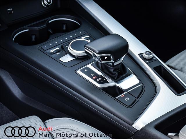 2018 Audi A4 2.0T Progressiv (Stk: 91114) in Nepean - Image 22 of 28