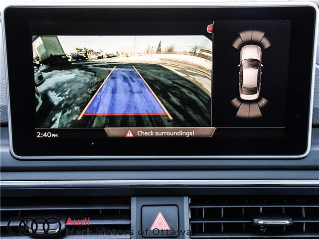 2018 Audi A4 2.0T Progressiv (Stk: 91114) in Nepean - Image 24 of 28