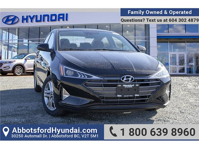 2019 Hyundai Elantra Preferred (Stk: KE868659) in Abbotsford - Image 1 of 26