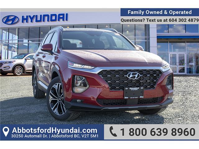 2019 Hyundai Santa Fe Ultimate 2.0 (Stk: KF081271) in Abbotsford - Image 1 of 28