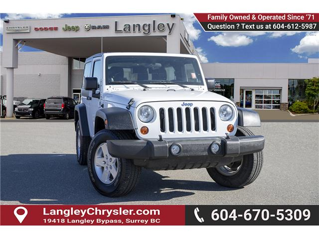 2013 Jeep Wrangler Sport (Stk: J313246A) in Surrey - Image 1 of 17