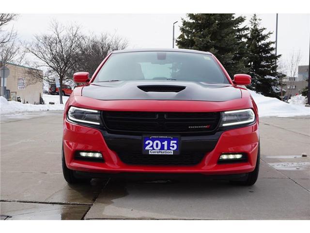 2015 Dodge Charger RALLYE| BLINDSPOT MONITOR| NAV| REAR CAM & MORE (Stk: J1120B) in Burlington - Image 2 of 30