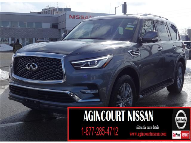 2018 Infiniti QX80  (Stk: U12429) in Scarborough - Image 1 of 25