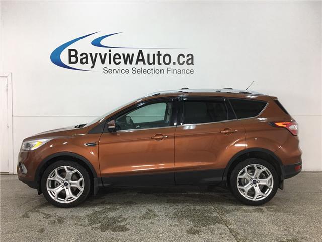 2017 Ford Escape Titanium (Stk: 34510J) in Belleville - Image 1 of 29