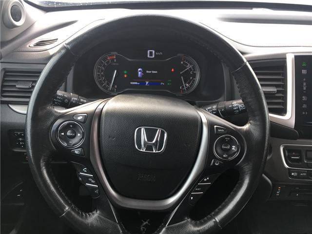 2016 Honda Pilot EX-L Navi (Stk: U16227) in Barrie - Image 10 of 18