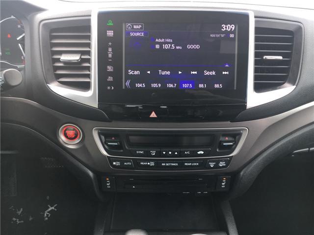 2016 Honda Pilot EX-L Navi (Stk: U16227) in Barrie - Image 13 of 18