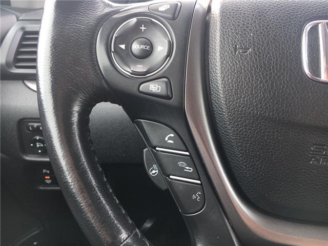 2016 Honda Pilot EX-L Navi (Stk: U16227) in Barrie - Image 11 of 18