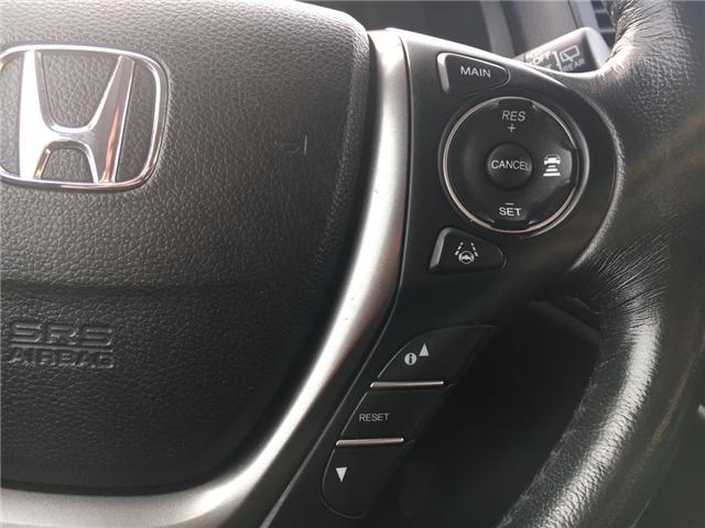 2016 Honda Pilot EX-L Navi (Stk: U16227) in Barrie - Image 12 of 18