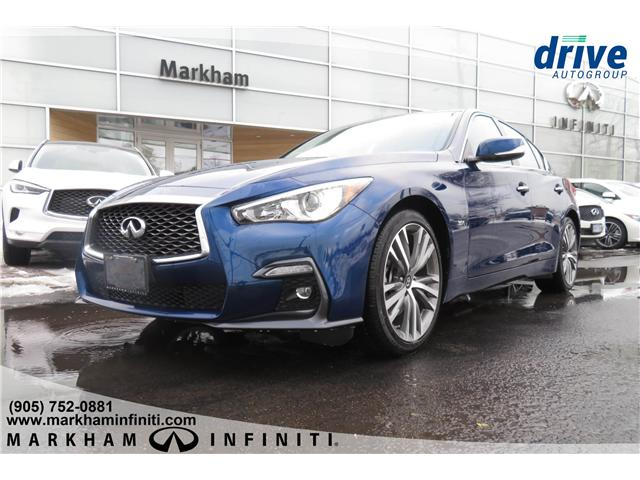 2019 Infiniti Q50 3.0t Signature Edition (Stk: K286) in Markham - Image 1 of 22
