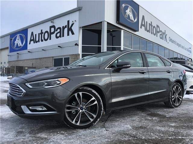 2018 Ford Fusion Titanium (Stk: 18-36448RMB) in Barrie - Image 1 of 27