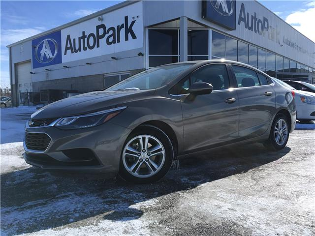 2018 Chevrolet Cruze LT Auto (Stk: 18-81684RMB) in Barrie - Image 1 of 28