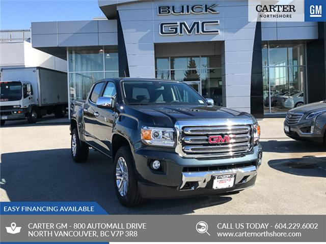 2019 GMC Canyon SLT (Stk: 9CN58500) in North Vancouver - Image 1 of 13