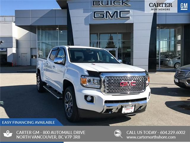 2019 GMC Canyon Denali (Stk: 9CN37830) in North Vancouver - Image 1 of 13