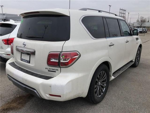 2019 Nissan Armada Platinum (Stk: AR19-001) in Etobicoke - Image 4 of 5