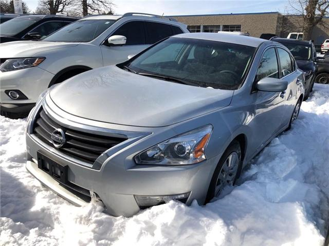 2015 Nissan Altima 2.5 S | NO ACCIDENT | LOW RATE FINANCING (Stk: P0619) in Mississauga - Image 1 of 14