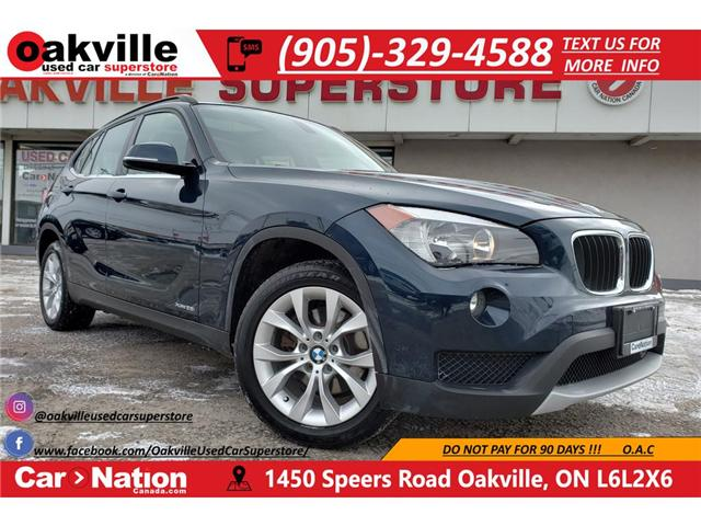 2014 BMW X1 xDrive28i | PANOROOF | HTD SEATS | LOW KM (Stk: P11876) in Oakville - Image 1 of 20