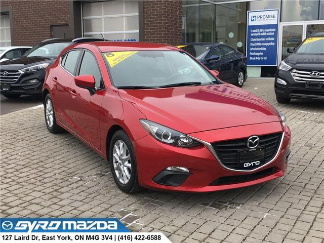 2015 Mazda Mazda3 GS (Stk: 28272) in East York - Image 1 of 30