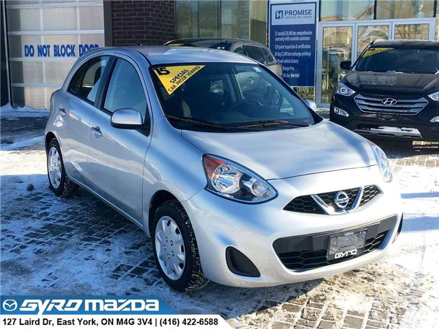 2015 Nissan Micra S (Stk: 28399A) in East York - Image 1 of 29